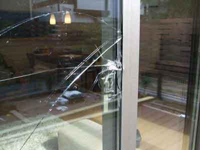 千葉市美浜区のガラス修理・交換