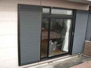 豊島区ガラス割れ