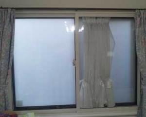 市川市の一戸建て住宅の二重窓