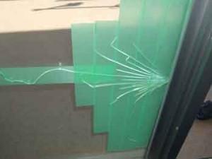 渋谷区の複層ペアガラス修理
