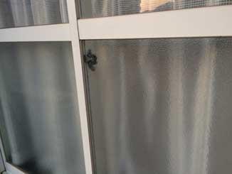 空き巣被害ガラス修理後