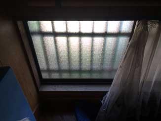 和田のくもりガラス修理後