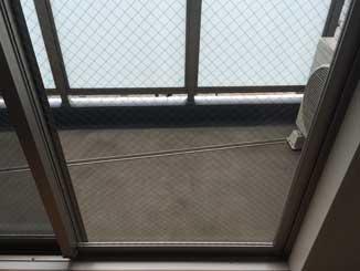 足立区の網入りガラス修理・交換後