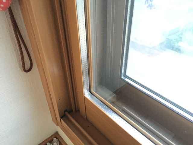 内窓の複層ペアガラス