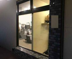 FIX窓のガラス修理後