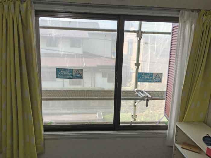 両袖付出窓