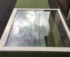 複層ペアガラス修理後